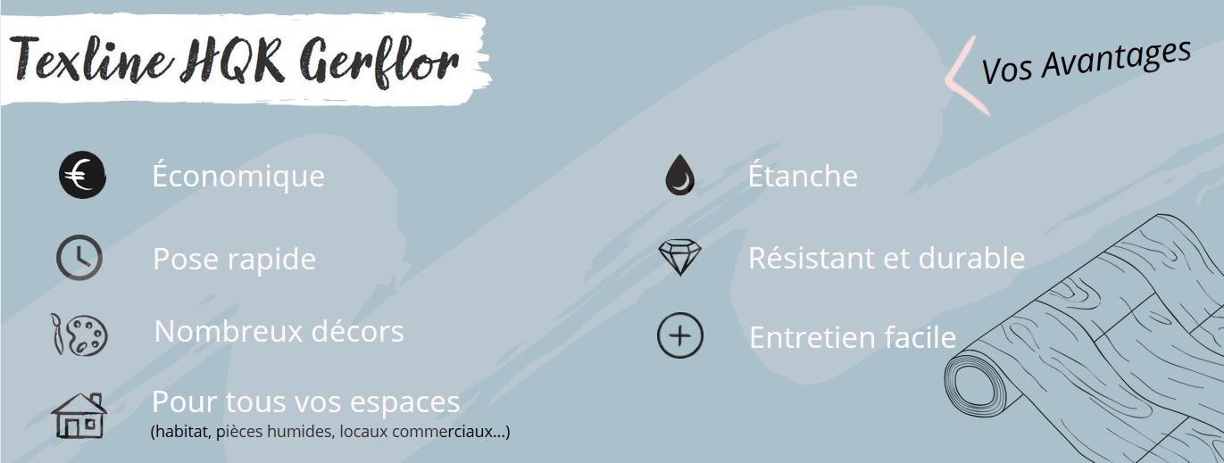 Infographie Gerflor Texline HQR