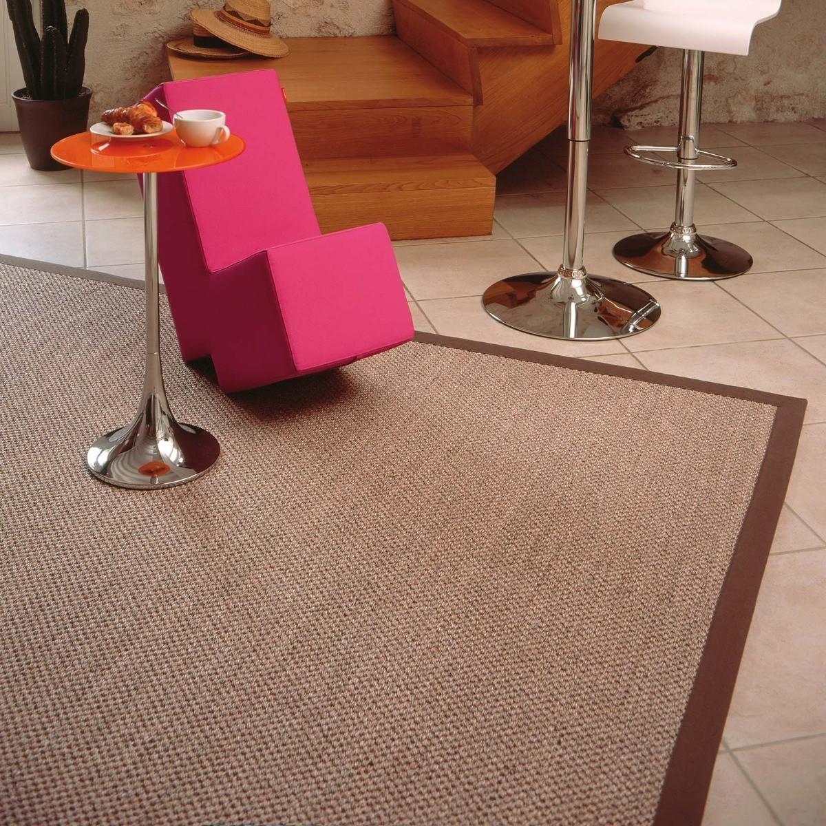 tapis sur mesure fibre naturelle acheter tapis en ligne