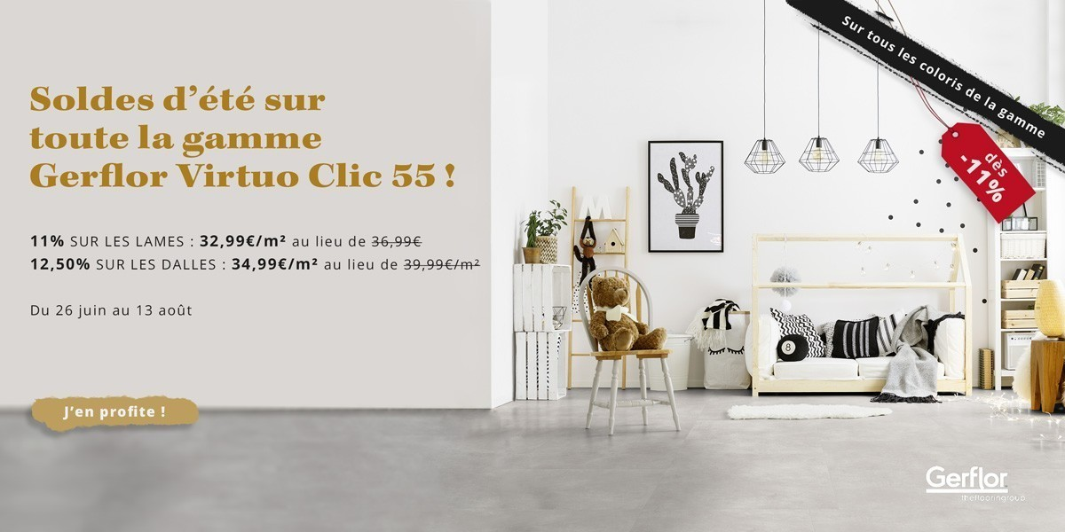 Gerflor Virtuo Clic 55 - Soldes