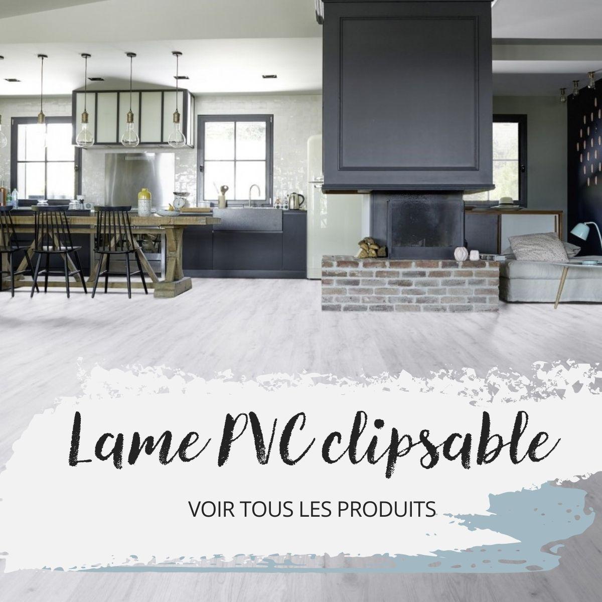 Lame PVC clipsable